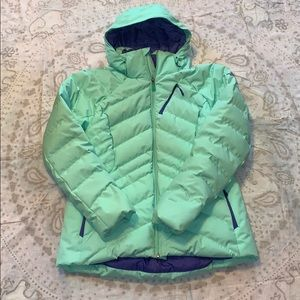The North Face Ski Puffer 550 Jacket Mint Green